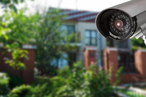 Install visible security cameras as part of your residential security systems.