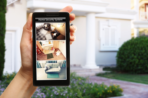 You have a peace of mind with a home security system.
