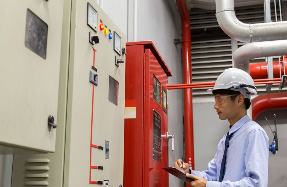 A licensed fire protection specialist can install a fire alarm system.